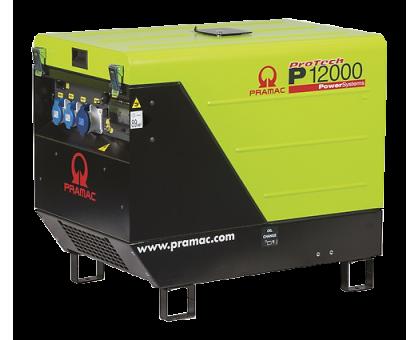 Генератор Pramac P 12000+AVR+CONN+DPP 400 B